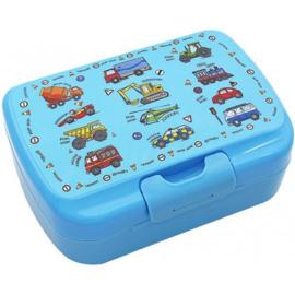 Lunchtrommel / broodtrommel - voertuigen auto's