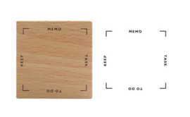 Stempel / getting things done / planner