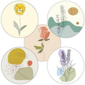 Sticker sluitzegel | Little Spring | 40mm | 10stk