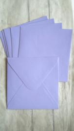 Envelop vierkant lila / pstk