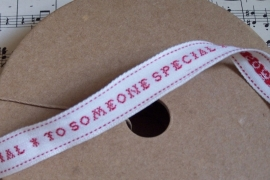 "EI 3213 Band ""to someone special"" met hele meter"