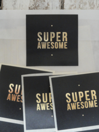 Stickers / Super Awesome / 15stks