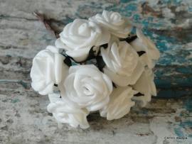 Foamroosjes | Bosje wit