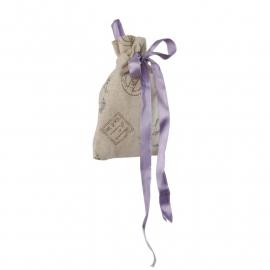 Geurzakje | met lila strik provence