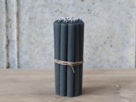 Set kleine kaarsjes / coal / 13x1,2cm