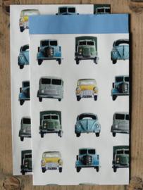 Vlakke zakjes / Ditte Studio - Cars / 5 stk