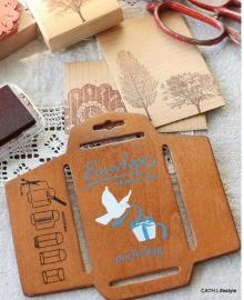 Enveloppen mal  / hout / klein model