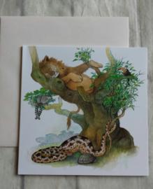 Kaart animals - nr4