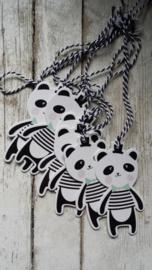 Cadeau label | panda | pstk