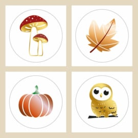 Sticker mix | set herfst | 16stk