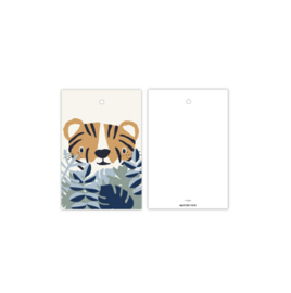 Cadeau kaartje | tijger