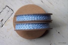 Bakkerstouw / spoel licht blauw / 12m / EI 3011