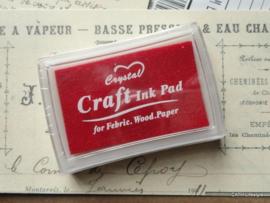 CH Craft stempelkussen rood