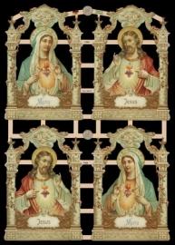ME 7366 Poezieplaatjes / religie maria / jesus