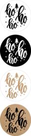Sticker sluitzegel mix - Kerst - Ho HO Ho | | 35mm | 12stk