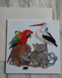 Kaart animals - nr5