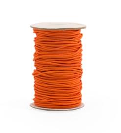 Elastisch koord oranje | 2mm | 5m