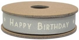 "EI 3135 Band 3 meter spoel ""happy birthday"""