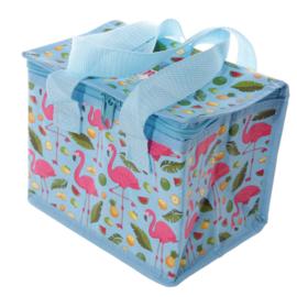 Lunchbag - koeltas / Flamingo - Ananas