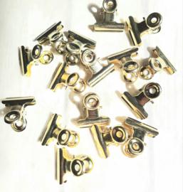 Klemmetje - goud | 2cm | pstk