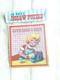 Jigsaw puzzeltje - let's bake a cake