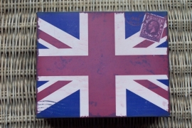 Zinken doos / union flag