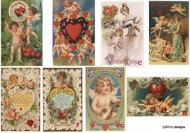 Kaart /  Valentine nostalgie / ME