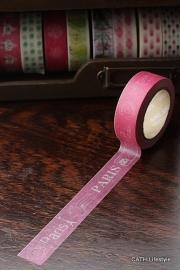 Masking tape  / PARIS rood
