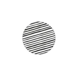 Sticker sluitzegel | rond zwart wit strepen - 20stk