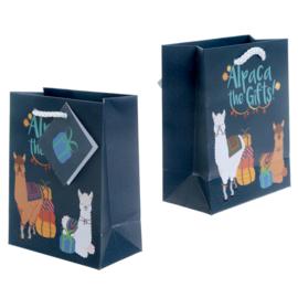 Cadeautasje - giftbag / Alpaca 14cm