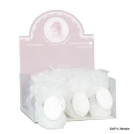 Geurkralen | in een organza zakje | fresh cotton