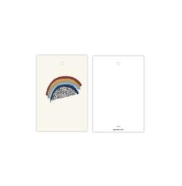 Cadeau kaartje | regenboog - rainbow