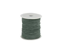 Elastisch koord - oud groen | 1mm | 5m