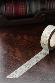 Masking tape  / flower yellow green