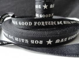 ZA 094 Good Fortune band / lint per meter