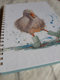 Notebook A5 | Deirdre Duck  | blanco