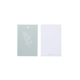 Cadeau kaartje | botanical - mint