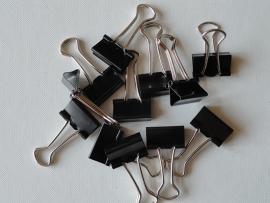 Clip / Klem zwart 19mm / pstk