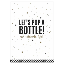 Kaart  - let's pop a bottle