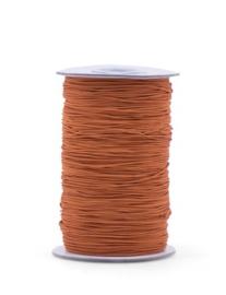 Elastisch koord - brick red | 1mm | 5m
