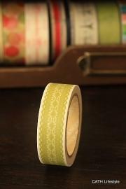 Washi Masking tape  / lime lace