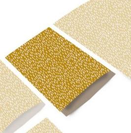 Zakjes sparkles yellow | 17x25cm | 5stk