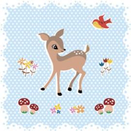 Kaart - Bambi woodland | inclusief envelop