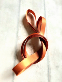 Satijn band copper | 9 mm | 4m