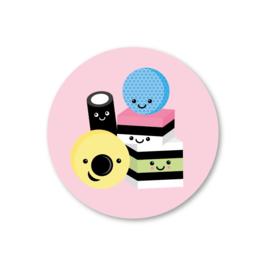 Sticker / Engelse drop / 5stk