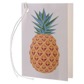 Cadeaukaartje / ananas