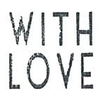 Stempel  / WITH LOVE / EI 3773