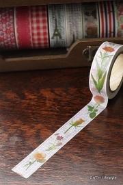 Masking tape  / bloemen