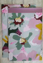 Zakje Floral Statement, Big Blossem / 17 x 25 cm / 5 stk