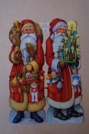 ME 7050 Poezie plaatjes groot kerstman